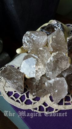 Smoky Quartz, Small Raw Stones, Pagan, Wicca, Healing Crystals and Stones, Want FREE shipping on your order of $25+ - Use code: PINITSHIP