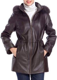 BGSD Women's Fur Trim Lambskin Leather Hooded Parka Coat - Brown XL BGSD,http://www.amazon.com/dp/B008LZVHGM/ref=cm_sw_r_pi_dp_UOp9sb1GT34CFN67