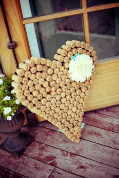 A bunch of ideas for what to do with wine corks. Awesome!