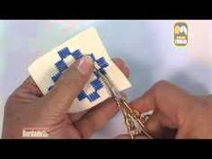 Embroidery - Satin stitch - YouTube
