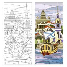 Стоковые векторные изображения Рисунок санкт петербург | Depositphotos®