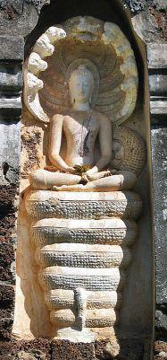 """Kundalini-Schlange (Symbol der Reifung und der Unsterblichkeit) Indien - Die Schlange und der Drachen (lat. """"Draco"""") symbolisieren aber auch die zerstörende und alles verschlingende Große Mutter, die in der Unterwelt als Göttin der Toten über den verborgenen Schatz wacht. Er stellt das kollektive Unbewusste dar, welches sowohl große Gefahr und tiefe Dunkelheit bedeutet, wie auch höchste Weisheit. Es ist dieser Doppelaspekt, fesselnd und bedrohlich, der das Numen Schlange symbolisch…"""