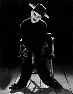 "Charlie Chaplin publicity shot for ""The Pilgrim"" (1923) by James Abbe"