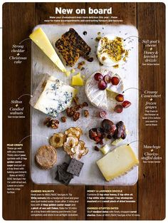 Whether you're rounding off a festive feast or looking for a quick fix to feed unexpected guests, we've got the perfect pairings to help you put together your best-ever cheeseboard