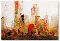 Cityscape II Wall Décor.  I just don't like these overly abstract cityscapes