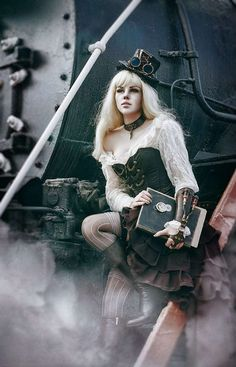 Steampunk / Gothic Ladies | Beauty | Fashion | Costume | Couture |