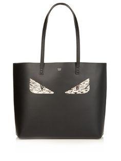 Bag Bugs snakeskin and leather tote | Fendi | MATCHESFASHION.COM US