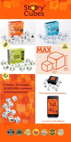 Rory's Storycubes: Throw The Dice & Roll With Your Imagination