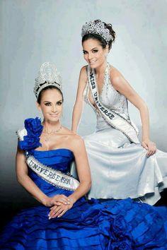 Ximena Navarrete - Mexico - Miss Universe 2010 and Mexican Lupita Jones Miss Universe 1991