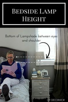 What is the Right Bedside Lamp Height                                                                                                                                                                                 More