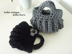 CROCHET BAG - borsa all'uncinetto - TUTORIAL