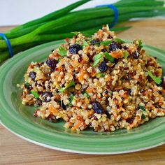 This delicious low fat Moroccan Quinoa Salad travels very well.