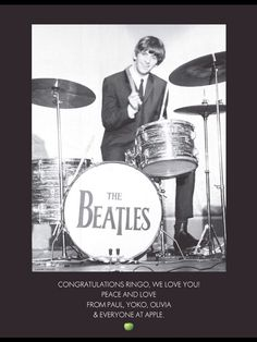 Congratulations Ringo! xxxooo