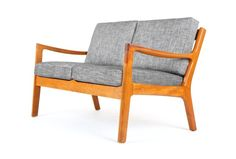 Ole Wanscher Two Seater 'Senator' Sofa - Mr. Bigglesworthy Designer Vintage Furniture Gallery