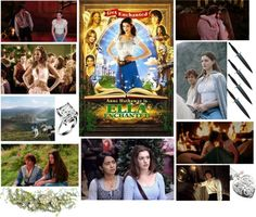 I was watching this movie last night so yeah ahaha Ella Enchanted, Movie Characters, Night, Polyvore, Books, Movies, Libros, Book, Films