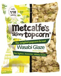 Metcalfe's Skinny Topcorn Wasabi Glaze