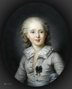 Where in Versailles is it? What: A portrait of Louis Antoine d'Artois, done after a pastel of 1781 by Rosalie Filleul.