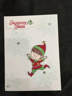 Christmas Cuties, Tempête de souhaits et Hourra pour Noël Stampin'up
