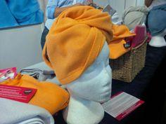 Microfibre towels seen at the October Caravan and Motorhome Show 2013 at Birmingham NEC