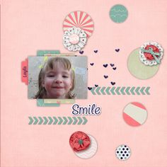 Layla at a family gathering July 5, 2013.  Kit: Love Sparks by Pixelily Designs Template: March Template Challenge Freebie by Dagi's Temp-tations Font: Chatter