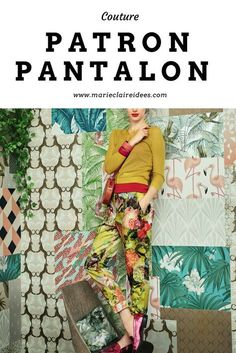 Patron pour coudre un pantalon / patron de couture / sewing patterns