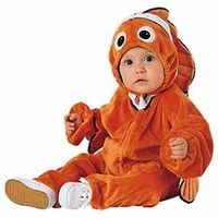 Infant Baby Disney Nemo Costume (Size: Our Baby Disney Nemo Costume is a great Baby Fish Costume for your little one. For other great Disney outfits consider any of our Disney Costumes for any age. Babys 1st Halloween, Family Halloween Costumes, Halloween Kids, Funny Halloween, Halloween Party, Halloween Decorations, Disney Costumes, Baby Costumes, Movie Costumes