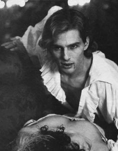 Interview with the Vampire - 1994 (Tom Cruise) Male Vampire, Vampire Dracula, Lestat And Louis, The Vampire Chronicles, Interview With The Vampire, Plus Tv, Vampires And Werewolves, Creatures Of The Night, Great Films