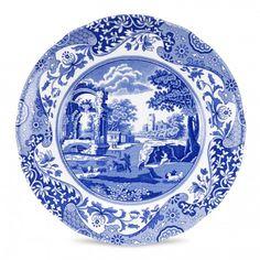 Spode Blue Italian Set of 4 Salad Plates