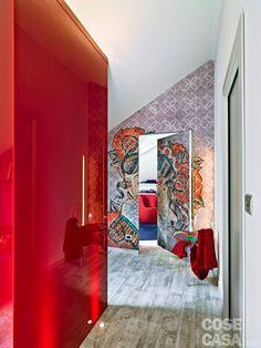 Casinha colorida: Contemporâneo, alegre e colorido
