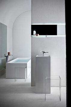 @kartelldesign by Laufen bathroom collection | #Kartell firma en Innova | #Minimal #Diseño