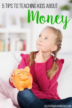 Teaching kids about money is important for life! They need to have good financial skills and know how to save and spend.
