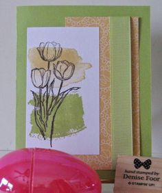 Quick and Easy Cards for Classes at the local Senior Center Stampin' Up!  More information on my blog here:  http://www.denisefoor.blogspot.com/2015/03/blessed-easter.html