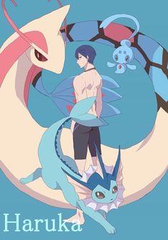 Free! Haru+Pokemon