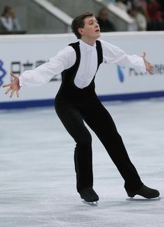 Maxim Kovtun of Russia Men Free Skating Rostelecom Cup  2013, Mens Figure Skating / Ice Skating dress inspiration for Sk8 Gr8 Designs.