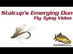 Stalcup's Emerging Dun Fly Tying Video Instructions