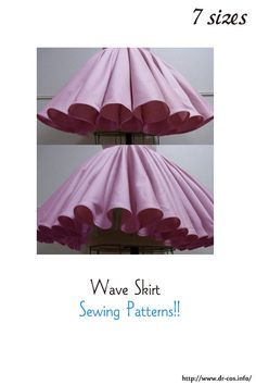 This is the pattern of a Wave Skirt. cm size) At present, only Japanese. Dress Making Patterns, Skirt Patterns Sewing, Clothing Patterns, Apron Patterns, Big Girl Clothes, Japanese Sewing Patterns, Sewing Lessons, A4 Size, Sewing For Beginners