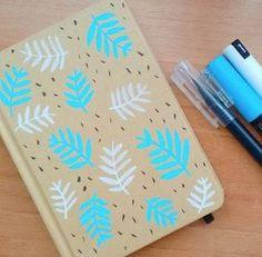 cuadernos hojas