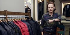 Sam Heughan Talks Barbour, Becoming a Fashion Designer, and Outlander Season 3