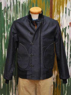 OLD GOAT   Rakuten Global Market: McCoy deck jacket U.S.NAVY DECK JACKET FRONT like NAVY
