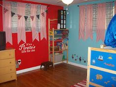 Pirate kids Room