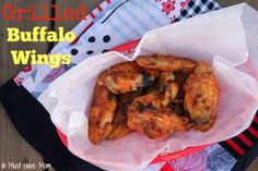 Grilled Buffalo Wings Recipe! - Must Have Mom