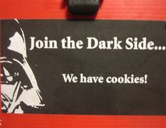 How the Dark Side recruits...