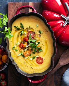 Yellow Tomato Gazpacho | Wait until vine-ripened heirloom tomatoes arrive at the farmers' market to make this simple soup.