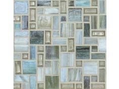 National Pool Tile Cosmopolitan Mosaic Glass Series Pool Tile | Sky Blue | COS-VANCOUVER