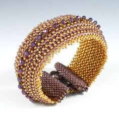 Jacqueline Cuff by Kate Tracton Designs