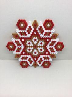 PROMO Weihnachtsverzierung Weihnachts Mandala Hama Perlen von TCAshop