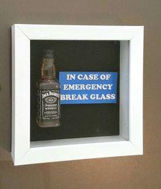 Jack Daniel's Whiskey - In Case of Emergency by DaisyChainOnline: