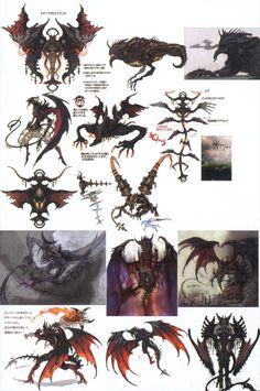 final fantasy creature design - Google Search