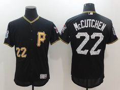 Pittsburgh Pirates #22 Andrew McCutchen black 2017 spring training Flexbase Collection Jersey