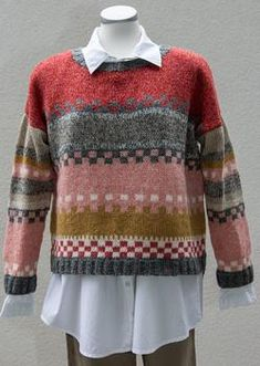 dk Webmail :: Vi tror, at du vil synes om disse pins Sweater Knitting Patterns, Knitting Designs, Knit Patterns, Fair Isle Knitting, Free Knitting, Baby Knitting, Diy Knitting Projects, Knit Fashion, Pulls